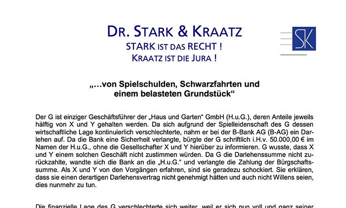 Jura Repetitorium Dr Stark Kraatz In Koln Und Bonn